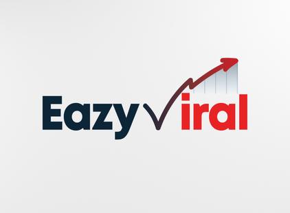 Eazy Viral custom logo.