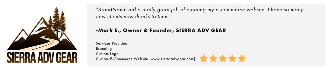 Sierra ADV Gear Testimonial.png