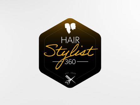 Hair Stylist 360 custom logo.