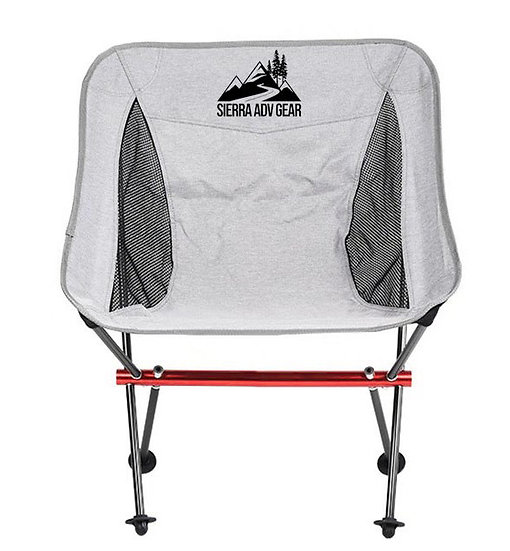 Folding Outdoor Low-Back Travelling Chair