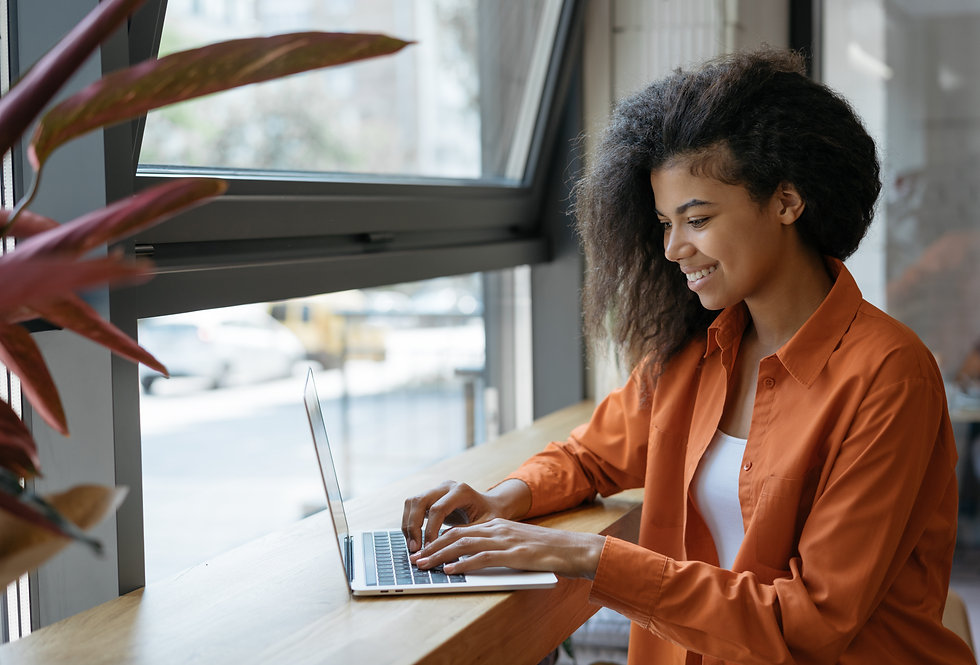 happy-african-american-woman-copywriter-working-freelance-project-from-home-businesswoman-