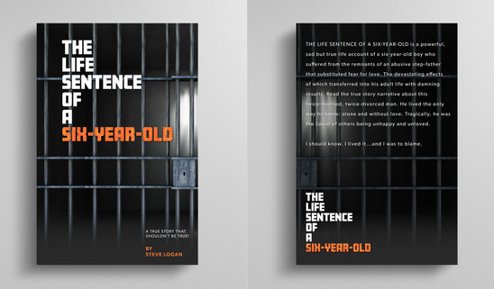 """We partnered with an author to design the book cover for the original novel titled """"The Life Sentence of a Six-Year-Old"""".  """"Man, BrandName was good and easy to work with! They hit the nail on the head with the first proof! Fast! like yesterday!"""" - Steve L., Author, 5 Star Review"""