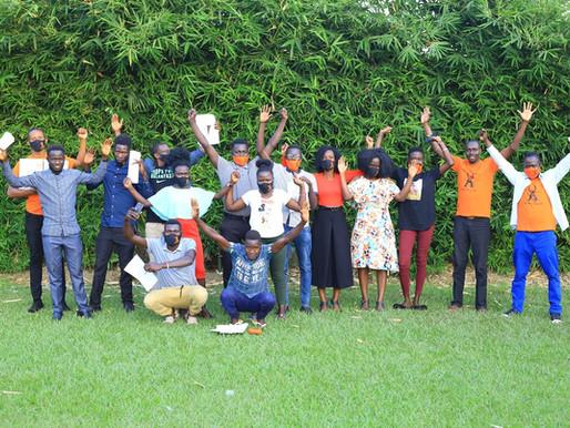 Affirmative Art workshop at Coco Palm Gardens - Arua - UGANDA - 2020