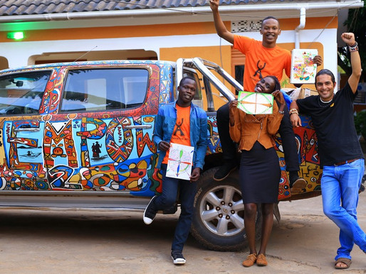 Affirmative Art workshop at Kampala Gardens Hotel - Arua - UGANDA - 2020