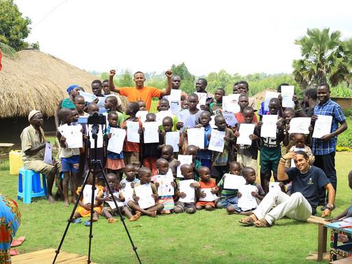 Affirmative Art workshop at Aliba Ayiko Village - UGANDA - 2020