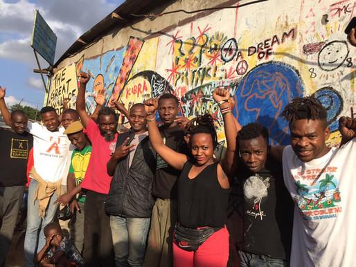 Affirmative Art featuring M2 (Kibera, Nairobi, Kenya)-2019
