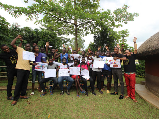 Affirmative Art workshop in Gulu  UGANDA - 2019
