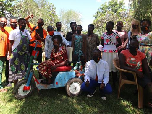 Affirmative Art workshop at Sun Flower Ministries - Arua - UGANDA - 2020