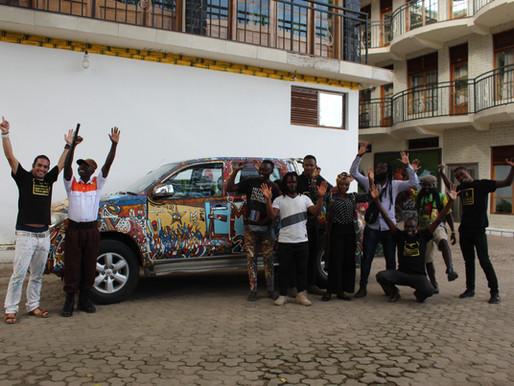 Affirmative Art Tour 2019 Congo/Rwanda Border