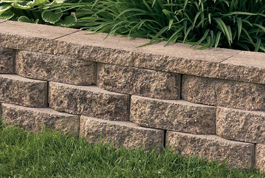 Rocks and Blocks Landscaping RETAINING WALL PRODUCTS