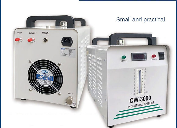 220V CW-3000 Thermolysis Industrial Water Cooler Chiller for CNC Laser Engra