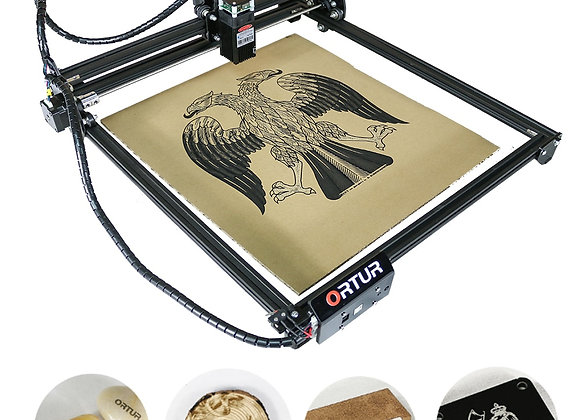 лазерная гравировка  Laser Metal Engraver, CNC Wood Cutter Machine MINI Size 40X