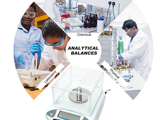 2KG 0.01g Lab Analytical Balance Precision Jewelry Gold Weighing Counting