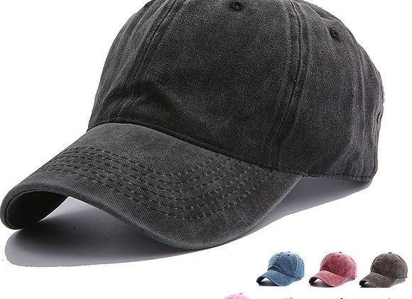 Solid Spring Summer Cap Women Ponytail Baseball Cap Fashion Hats Men Baseba