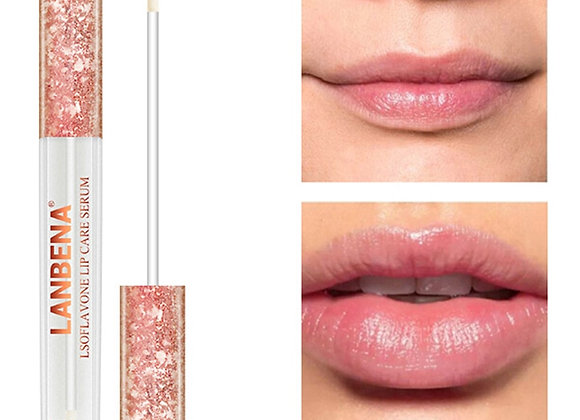 LANBENA Lip Plump Moisturizing Lipgloss Essence Reduce Lip Wrinkles Serum