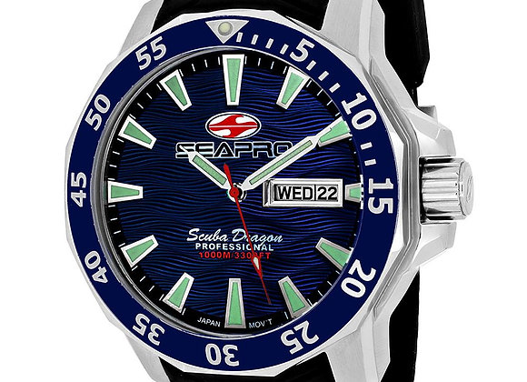 Men's 1000 Meters Scuba Dragon Diver Limited Edition-USA