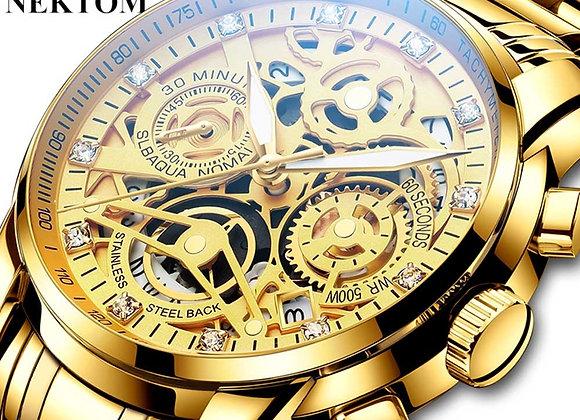 2021 Men Mechanical Wristwatch,Fashion Casual