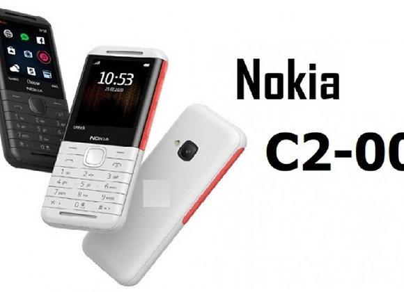 Nokia C2-00 Xpress Music 2G Keypad High Sound Dual Sim Memory Card Supported