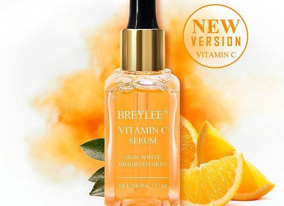 BREYLEE Vitamin C Serum Anti-Aging Whitening VC Essence Oil Topical Facial Serum
