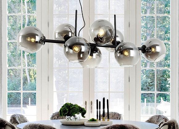 Design Nordic Glass 8 Balls Pendant Lights for Living Room Dining Room