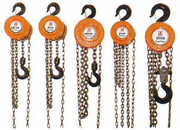 Chain blocks - 1 Ton 3 Meter long