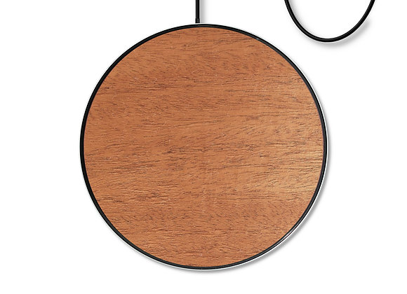 Customizable Wooden Qi Wireless Fast Charger