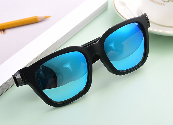 TR90 Frames-Audio Sunglasses With Open Ear Headphones,Black,with Bluetooth