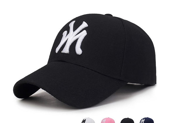 Outdoor Sport Baseball Cap Spring and Summer Fashion Letters Embroidered