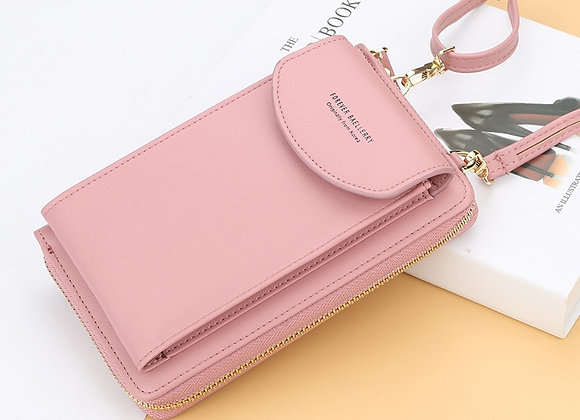 2021 Women Wallet Famous Brand Cell Phone Bags Big Card Holders Handbag Purse
