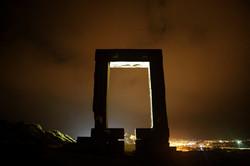 Portara by Night