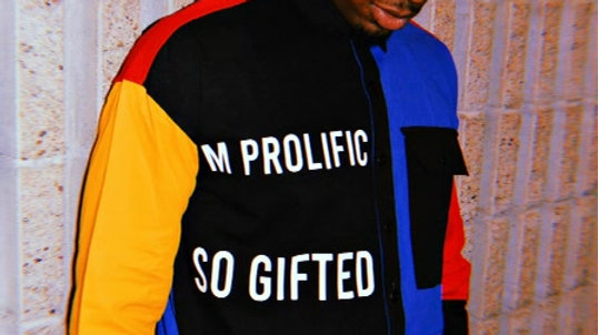 """BHM """"GIFTED"""" BUTTON DOWN"""