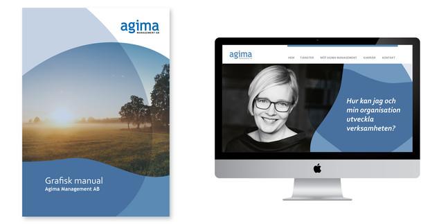 Agima – visuell identiet