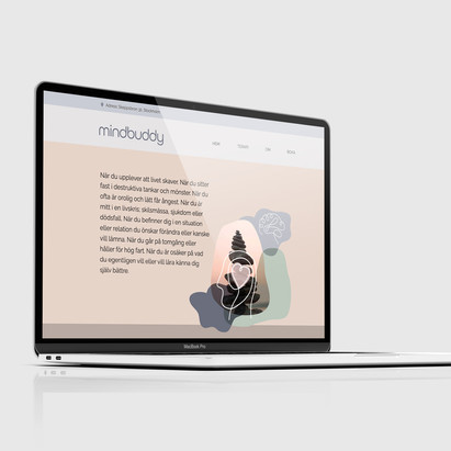 Mindbuddy – visuell identitet