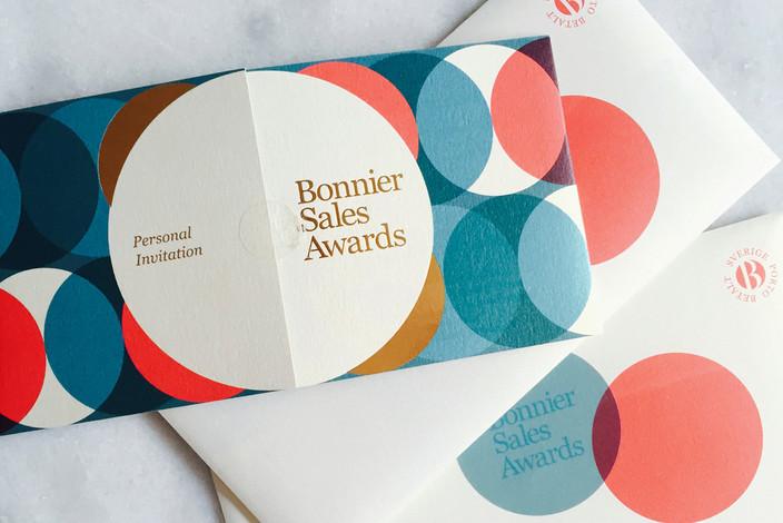 Bonnier Sales Awards – eventdesign