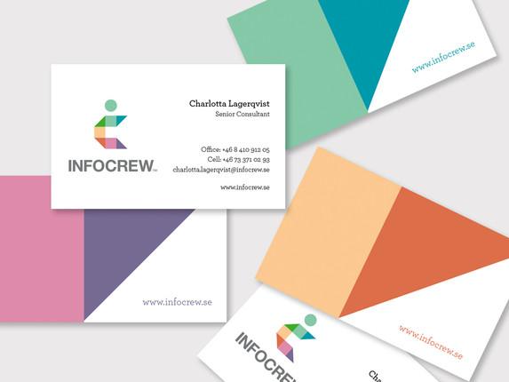 Infocrew – visuell identitet