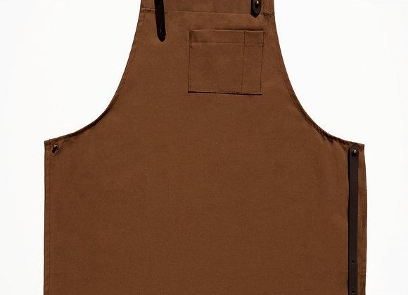 Apron - chocolate brown