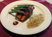 Kennett Square Inn Restaurant & Tavern Pretzel Crusted Salmon