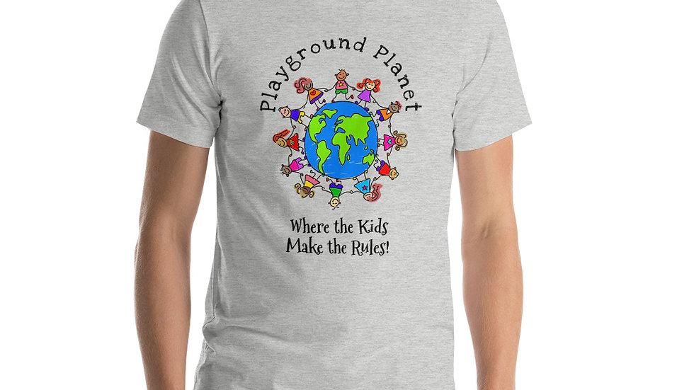 Short-Sleeve Unisex T-Shirt PLAYGROUND PLANET