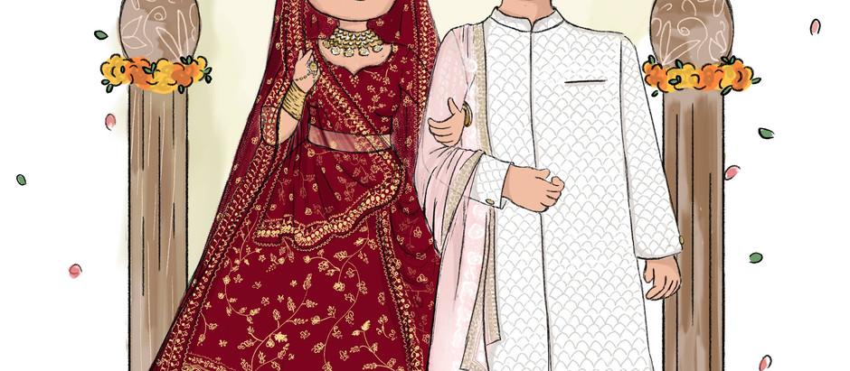 A Maharashtrian Wedding - invite