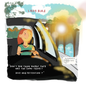 A scene from the movie Lady Bird