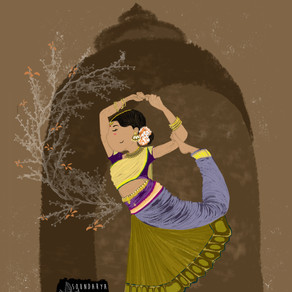 Bharatanatyam (a classical dance form from India)