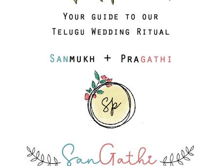 Illustrated Rituals of A Telugu Wedding