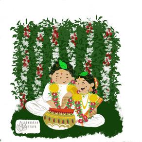 A South Indian (telugu) wedding