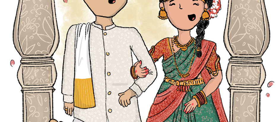 A south indian wedding - invite