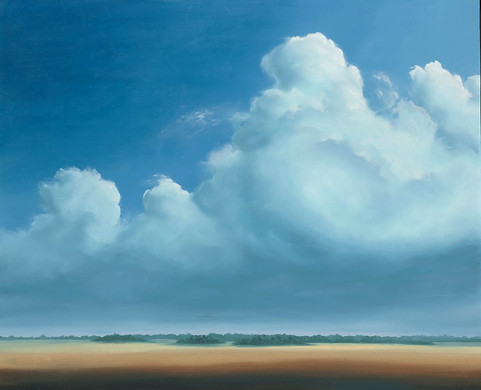 AIR 14 contemporary landscape painting o