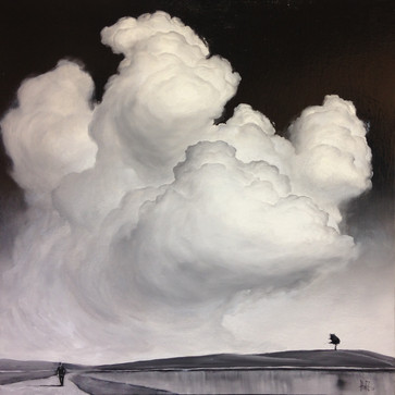 AIR 44 contemporary landscape painting o