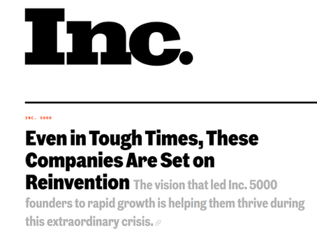 FrontRunnerHC honored by Inc. magazine in their List of America's Fastest-Growing Private Companies