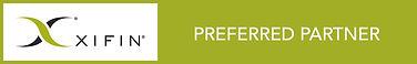 XIFIN Preferred Partner Badge -Rectangle
