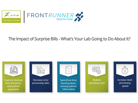 The Impact of Surprise Bills - What's Your Lab Going to Do About It?
