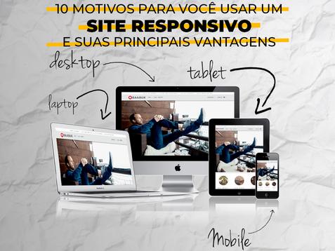 10 motivos para você usar um site responsivo e suas principais vantagens